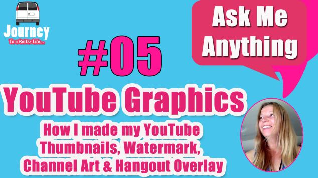 YouTube Graphics – How I make my Thumbnails, etc.