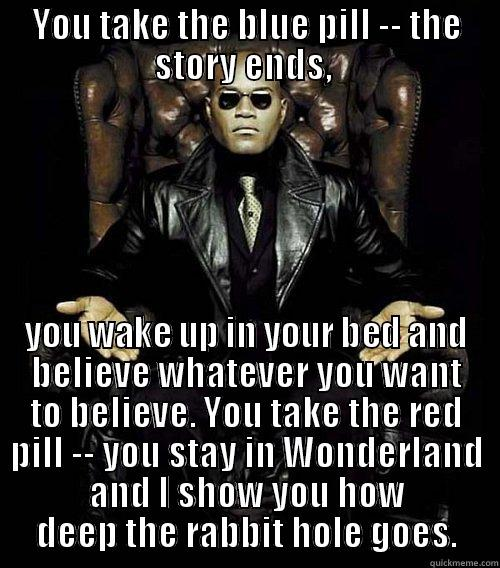 Matrix BluePill Red Pill