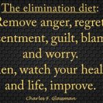Remove anger, regret, worry and watch your health and life improve