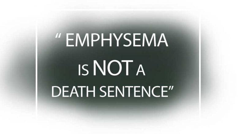Emphysema – the beginning