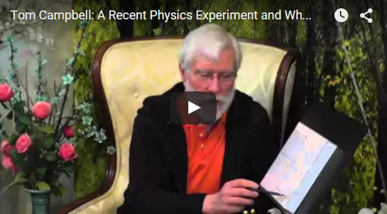 Life is a Virtual Reality [Video] ANU (Australian National University) physics experiment
