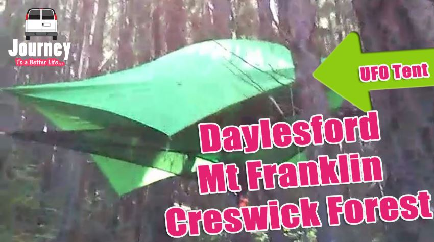 Roadtrip & Campsite Tours: Daylesford – Mt Franklin – Creswick Forest
