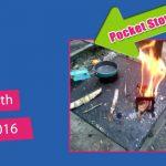 Pocket Stove Test (2 Camp Meals – grilled pumpkin & poached eggs)