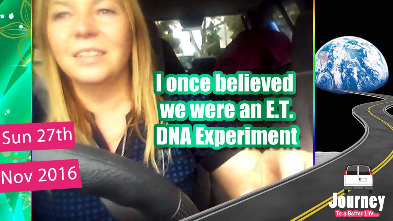 I once believed we were an E.T. DNA Experiment