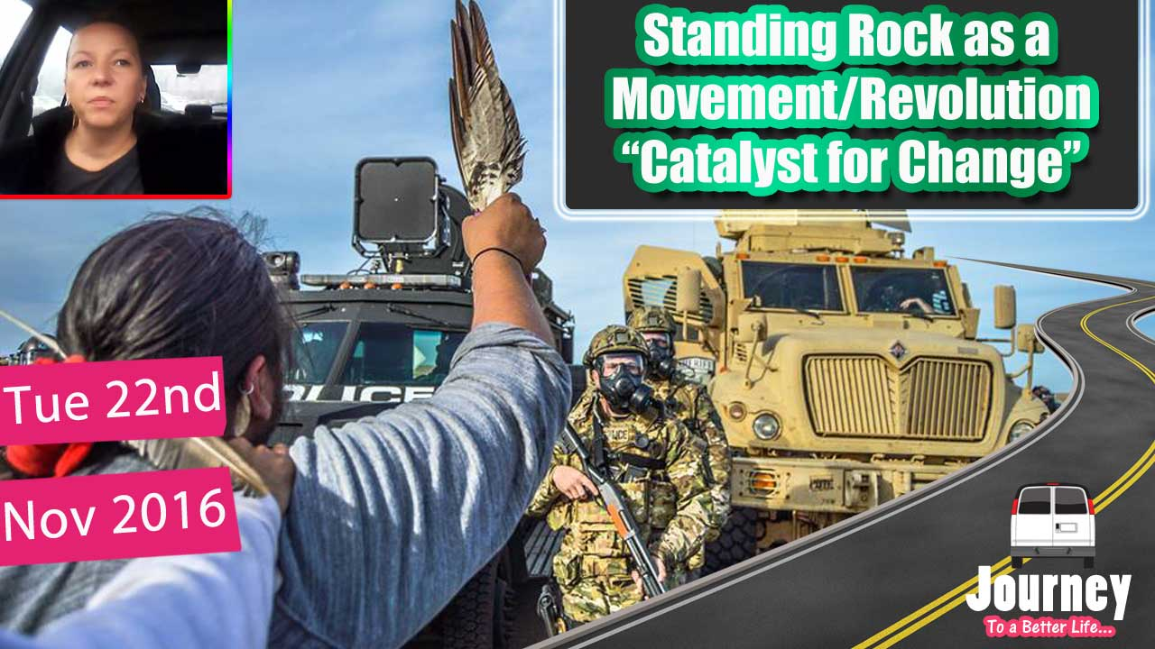 Stand against Corruption – Be true to your Soul (Standing Rock)