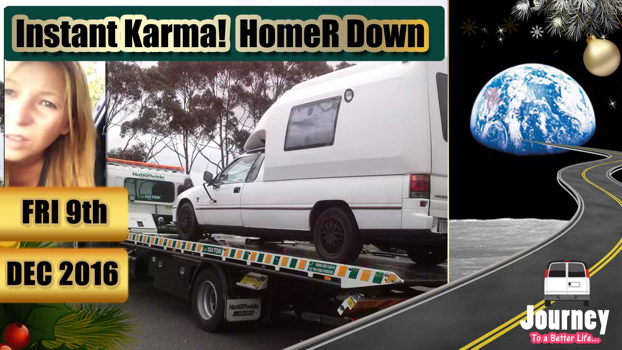Instant Karma – HomeR is Down [Just whinging]