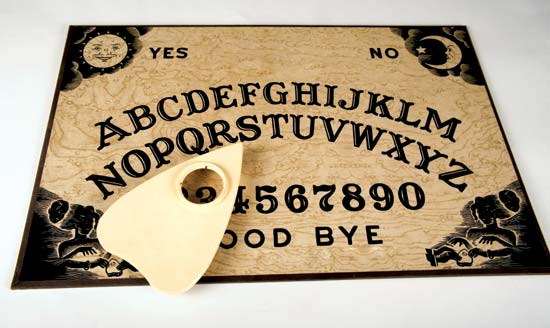 Ouija Board Message