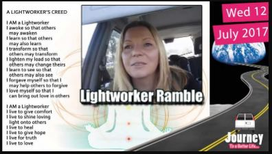 Can't have 'normal' conversations plus Lightworker ramble
