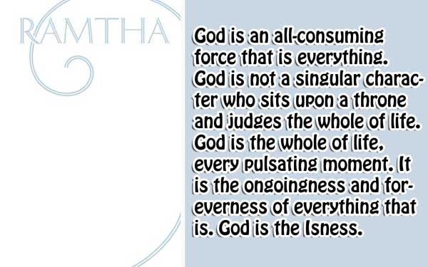 [Ramtha] The White Book 1 What is God?