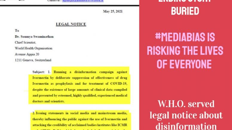Pandemic-Ending information Buried – Will Truth Prevail? #MediaBias
